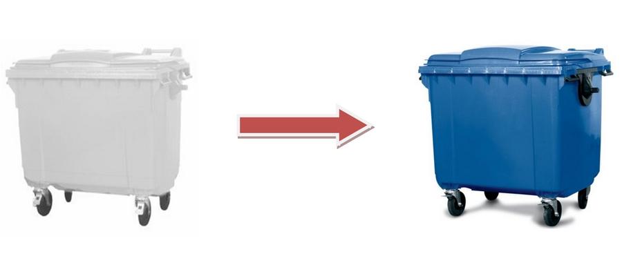Od 1 Lipca zmiana kolorystyki pojemników na odpady