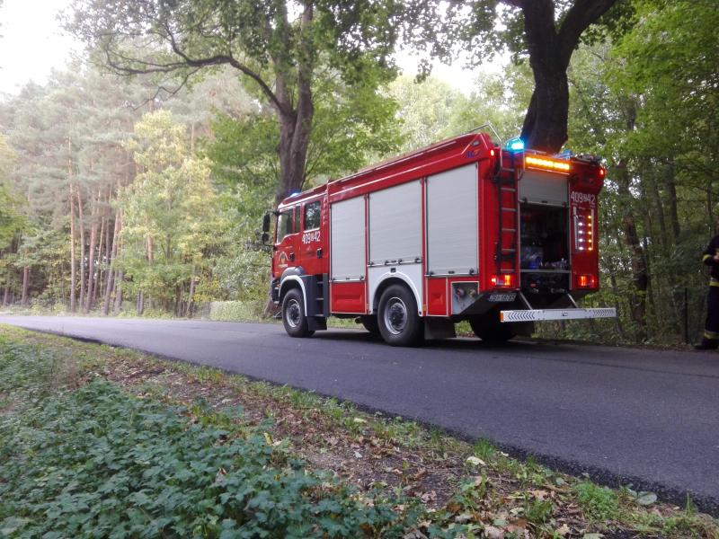 Wypadek drogowy na trasie Tychowo - Koszalin