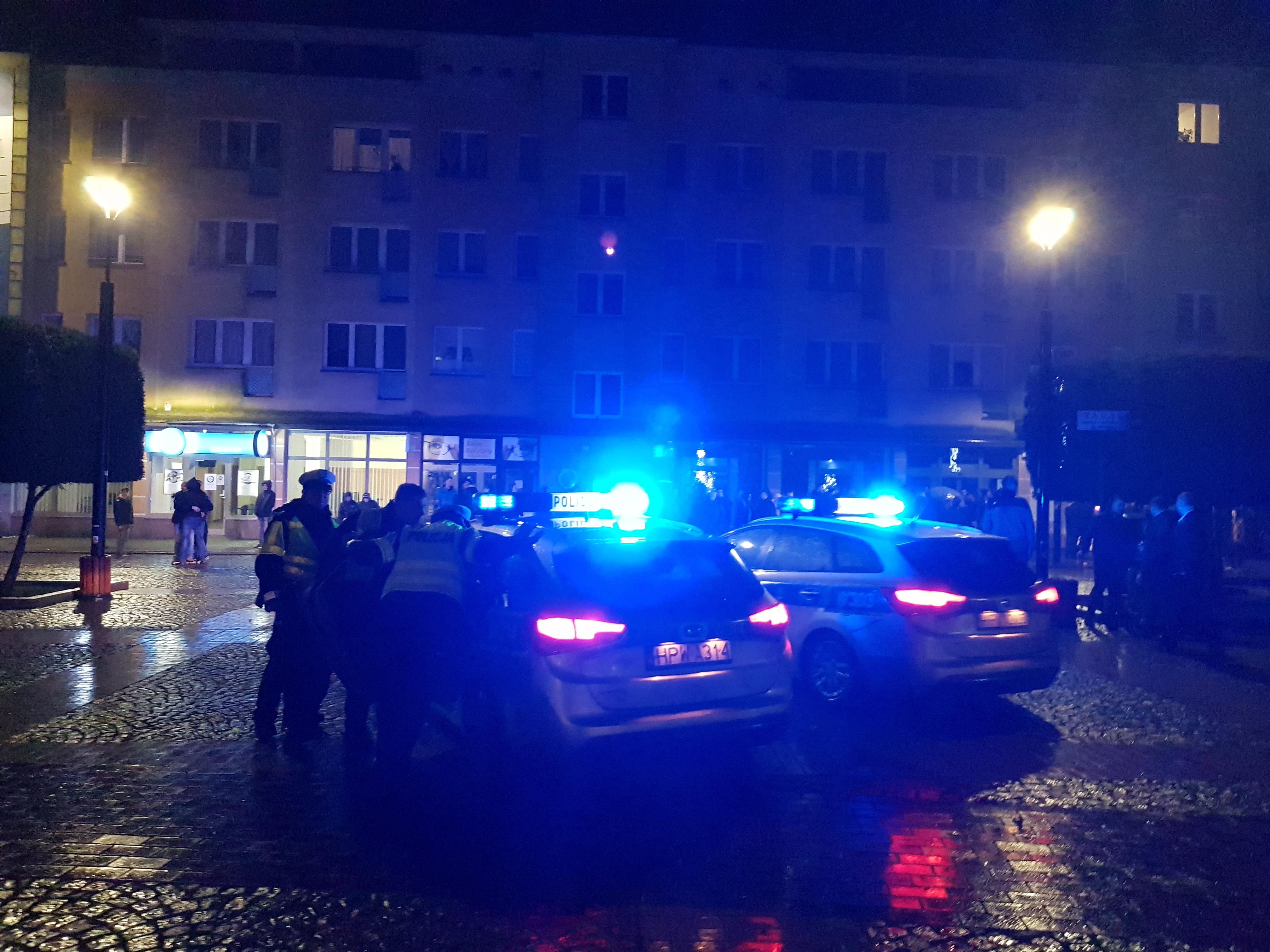 Brutalne pobicie w Białogardzie - interweniowała policja.