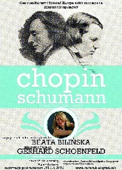 Koncert fortepianowy CHOPIN - SCHUMANN