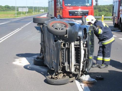 Wypadek na obwodnicy Karlina