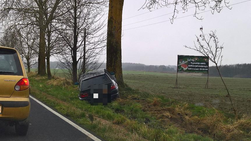 Wypadek pod Białogardem - Sprawca odjechał z miejsca zdarzenia!