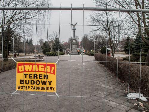 Prace w Parku Orła Białego ruszyły.