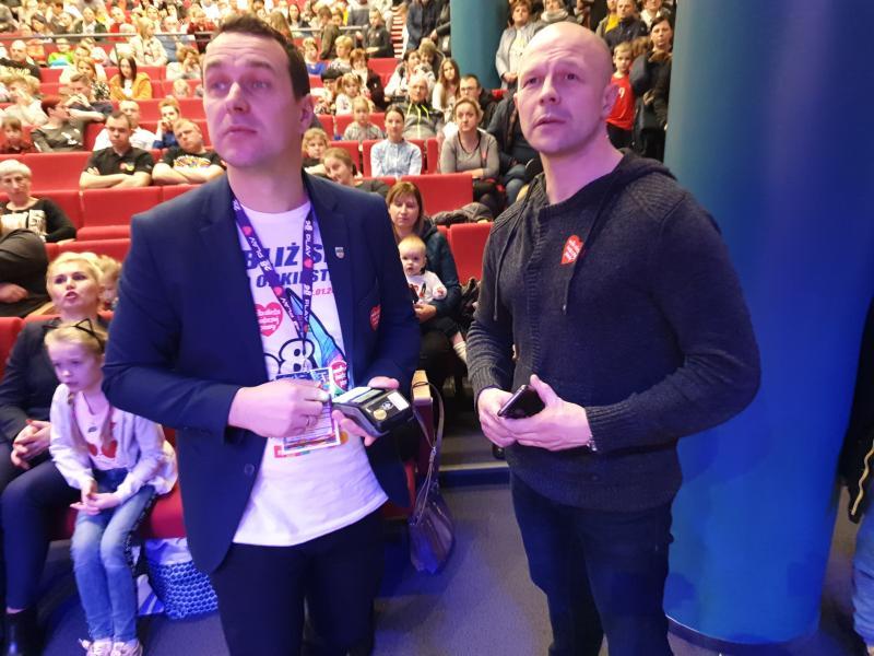 28. Finał WOŚP w Tychowie - zlicytowano złote serduszko.  Padł rekord zbiórki! ZDJĘCIA