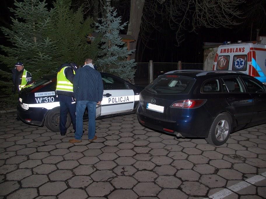 Pościg za pijanym policjantem