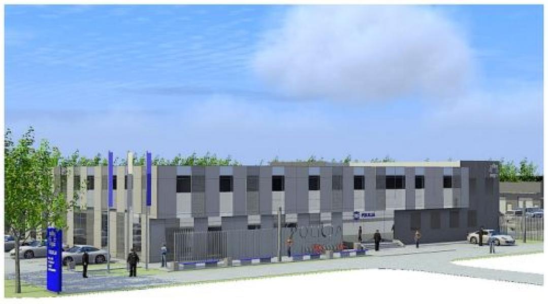 Rozpoczyna się budowa nowej Komendy Powiatowej Policji w Białogardzie