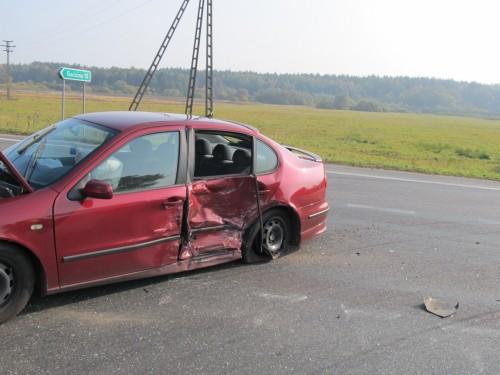 Wypadek w Karlinie