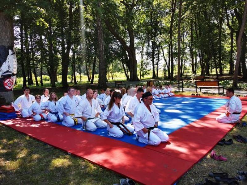 10-lecie Białogardzkiego Klub Karate Kyokushin.