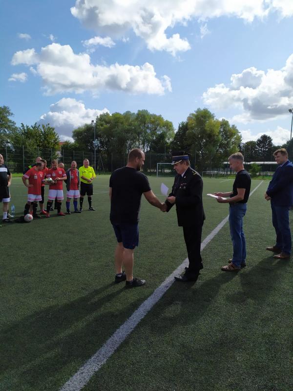 Turniej służb mundurowych o puchar komendanta PSP.