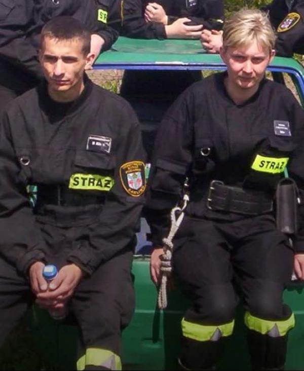 Strażak z Karlina ratuje rodzinę z Manchesteru!