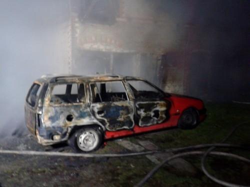 Pożar w Nawinie