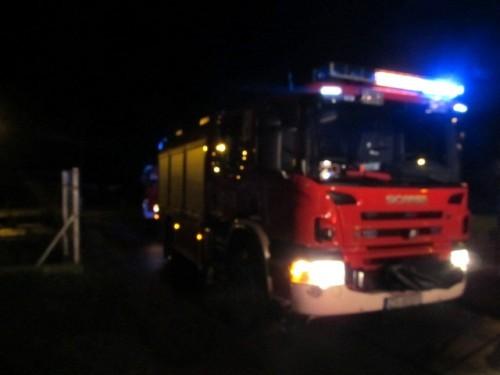 Pożar w Karlinku