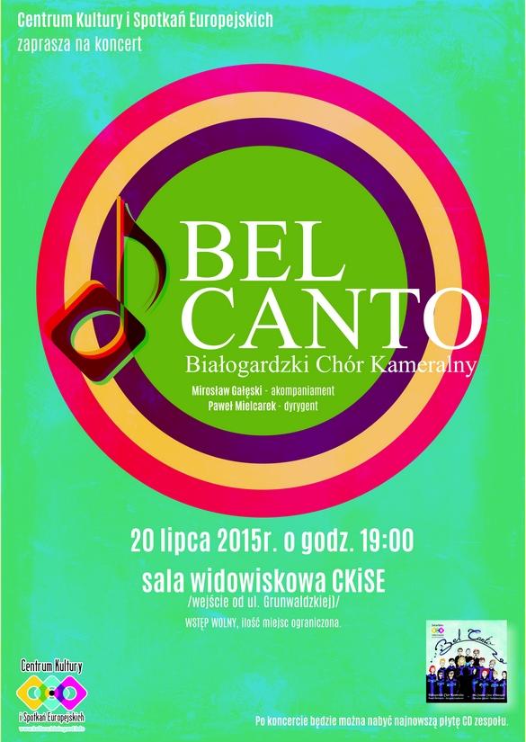 Koncert Białogardzkiego Chóru Kameralnego BEL CANTO