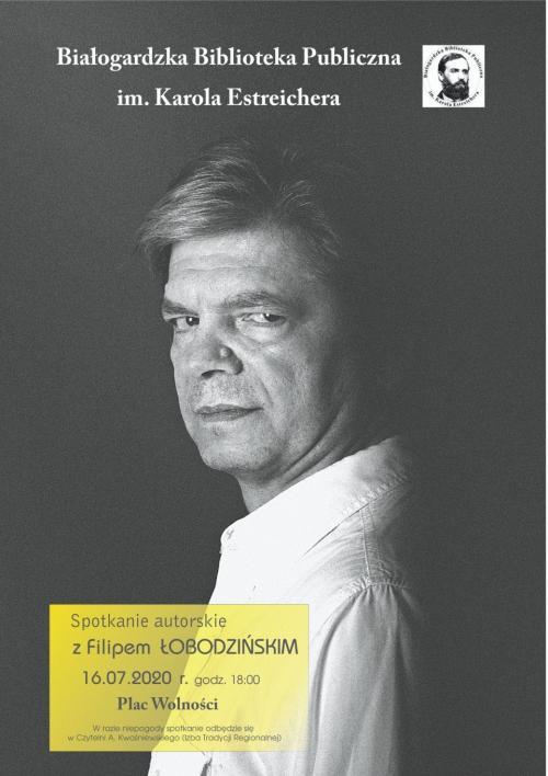 Spotkanie z Filipem Łobodzińskim