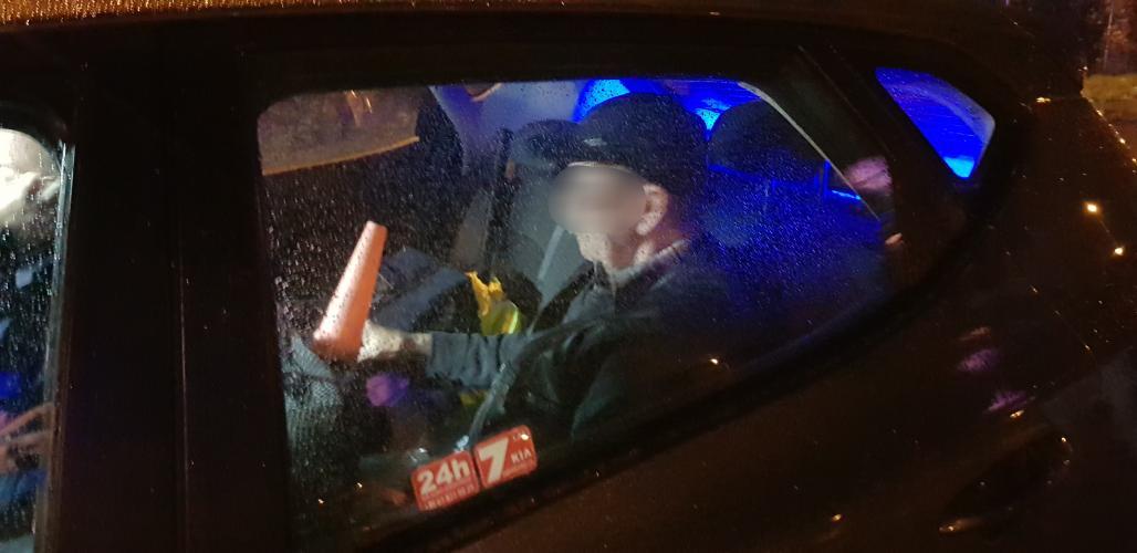 Obywatelskie zatrzymanie pijanego kierowcy w Białogardzie! 73 latek stracił uprawnienia.