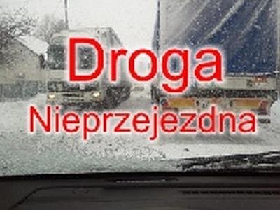Droga na Koszalin zablokowana