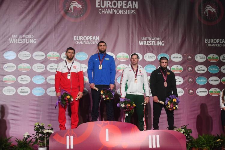 Sukces Białogardzkich Zapaśników na Mistrzostwach Europy