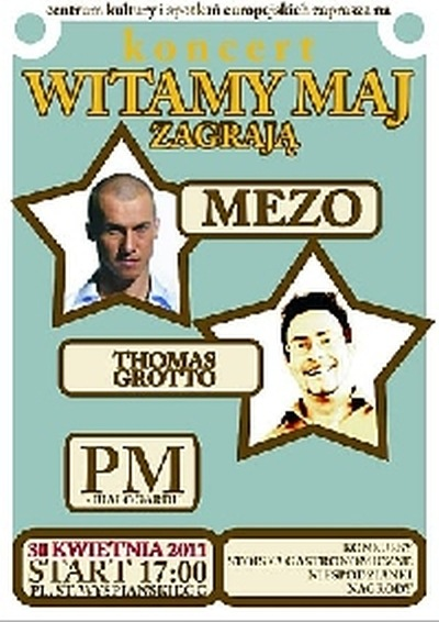 Koncert MEZO - majówka