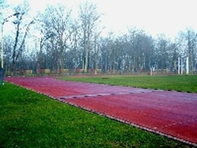 Remont stadionu w Białogardzie