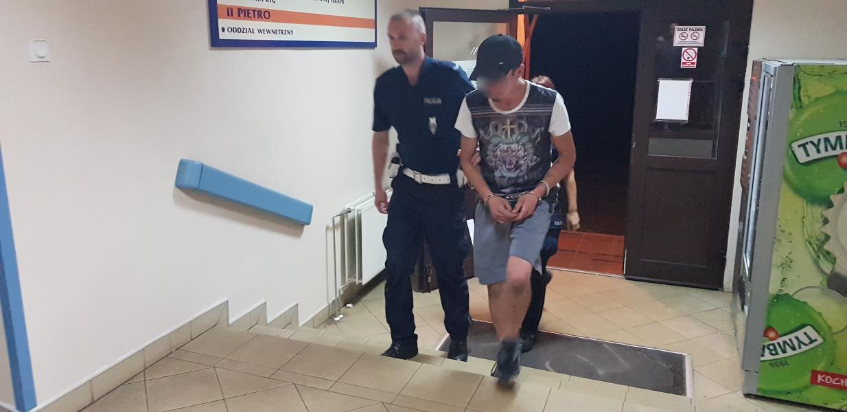 Kierował po użyciu amfetaminy  - zatrzymała go policja.