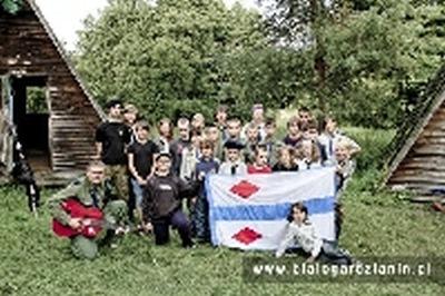 Biwak Harcerzy z Białogardu na Pojezierzu Drawskim