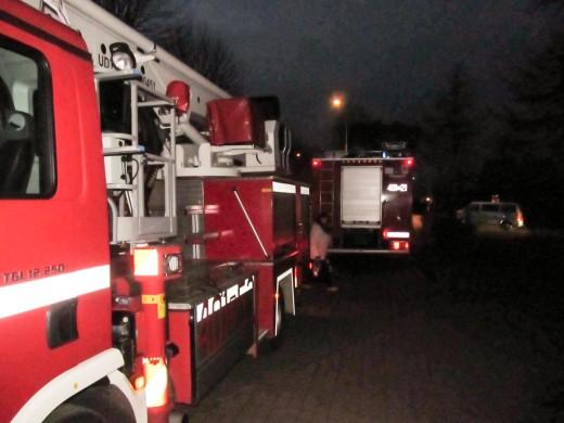 Pożar w Urzedzie Miasta w Białogardzie