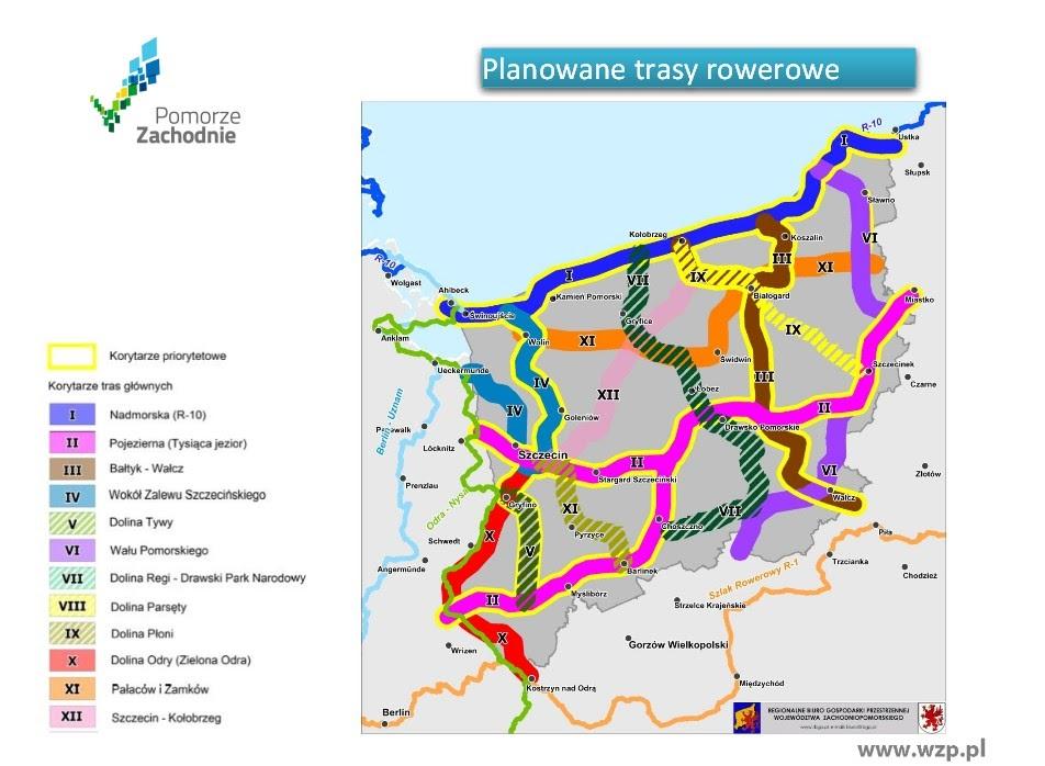 Nowe ścieżki rowerowe w zachodniopomorskim