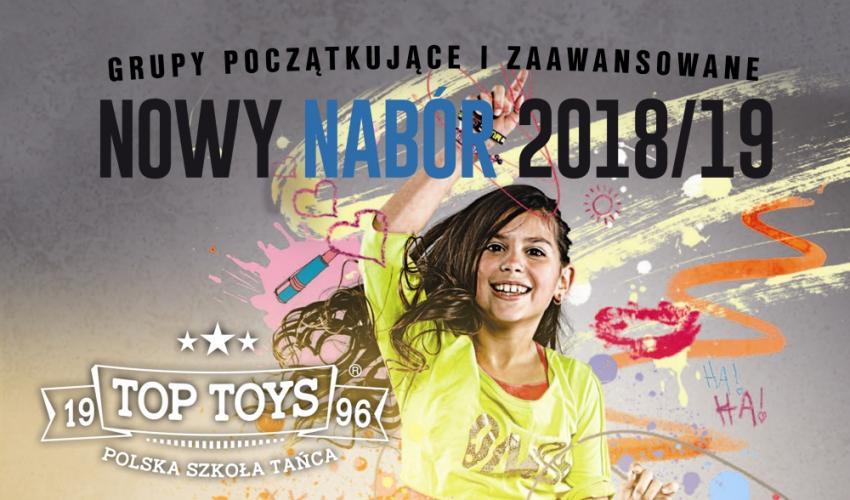 Oferta zajęć w szkole tańca TOP TOYS Białogard - Sezon 2018/2019