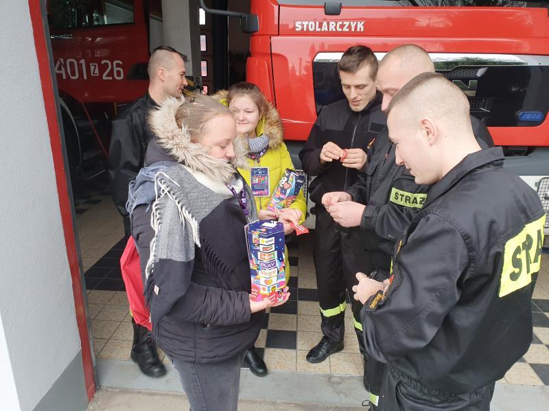 Strażacy z PSP Białogard wspierają 28. Finał Wielkiej Orkiestry Świątecznej Pomocy