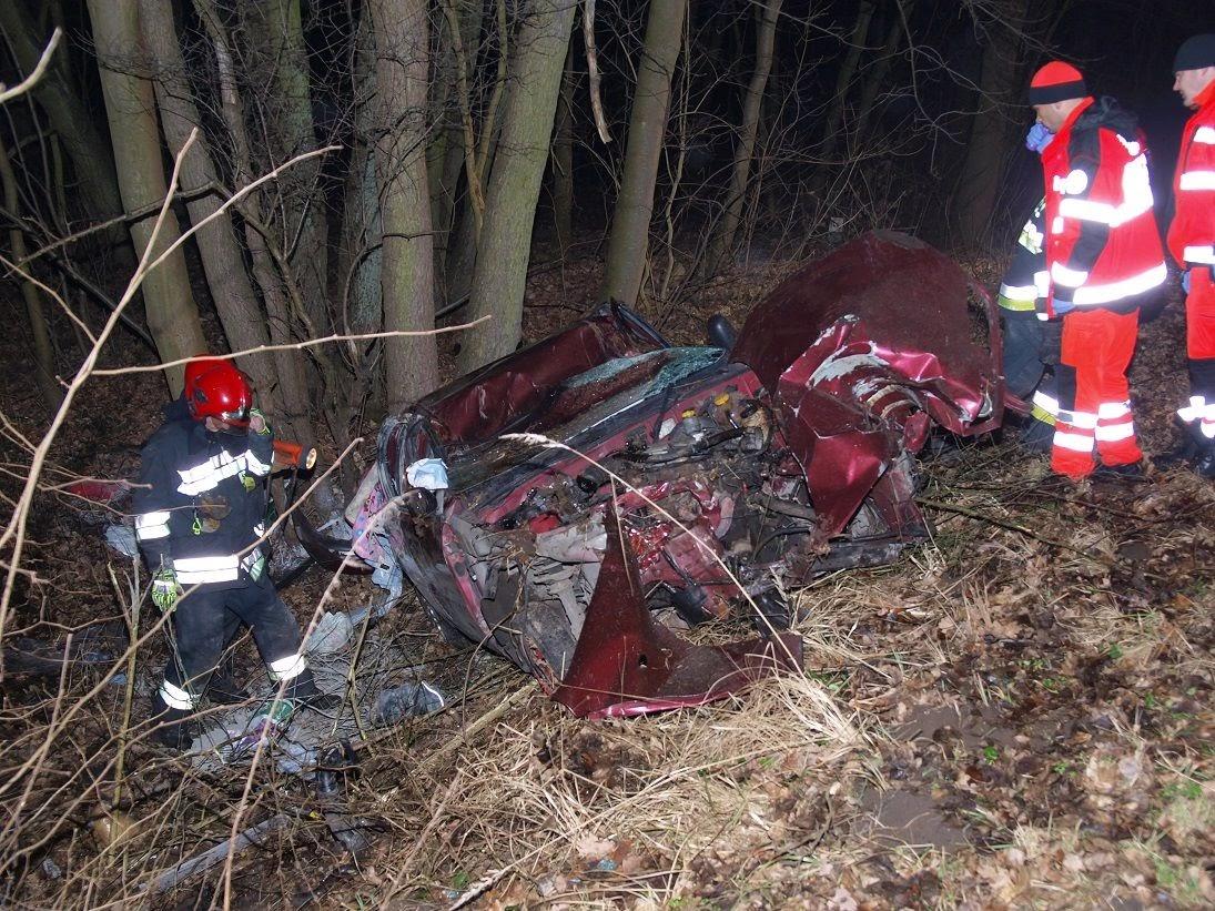 Śmiertelny wypadek pod Białogardem