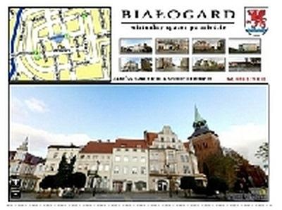 Wirtualny spacer po Białogardzie