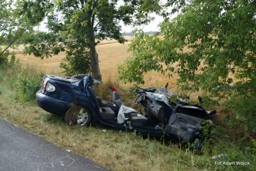 Tragiczny wypadek na drodze do Kołobrzegu