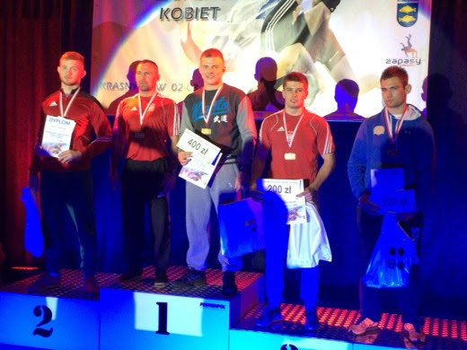 Worek medali zapaśników AKS Białogard