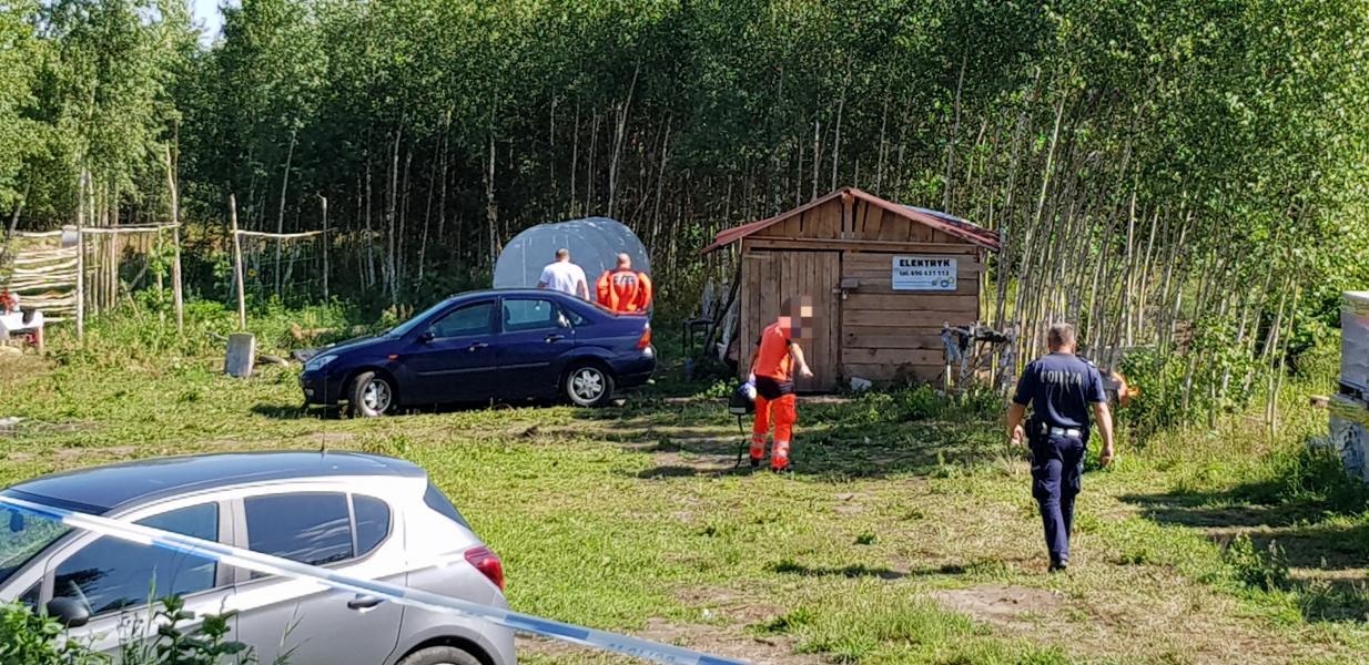 Makabryczne morderstwo w Dębczynie pod Białogardem! Znaleziono zmasakrowane ciało mężczyzny!