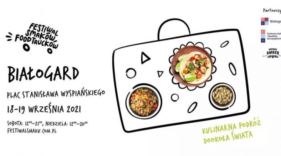 Festiwal FoodTrucków w Białogardzie