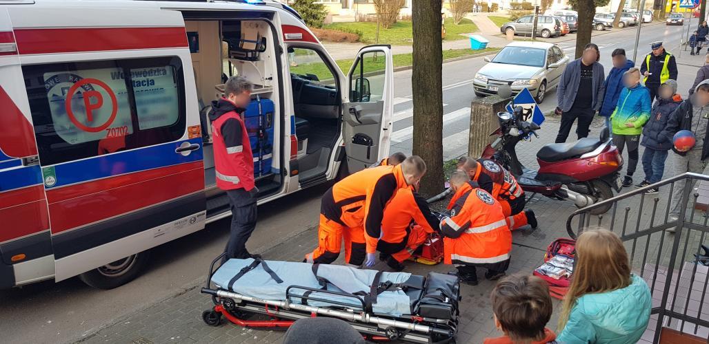Poważny wypadek na ul. Woj. Polskiego - jedna osoba ciężko ranna!