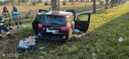 Wypadek w okolicy Białogardu [ZDJĘCIA]