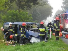 Wypadek koło Karlina