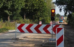Zamknięta Droga Białogard - Kościernica