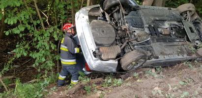 Poważny wypadek na drodze Białogard - Połczyn Zdrój