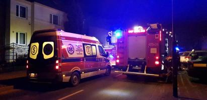 Pożar i wybuch w Białogardzie - 3 osoby w tym policjant w szpitalu.