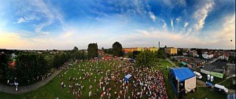 Zdjęcie grupowe podczas Dni Białogardu