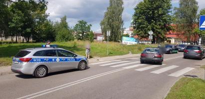 Potrącenie dziecka na przejściu dla pieszych w Białogardzie