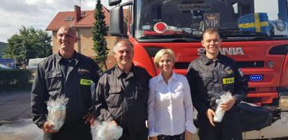 Powitanie strażaków Świnoujście i Białogard - duża porcja zdjęć!