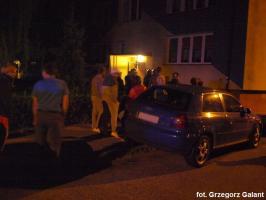 Nocna ewakuacja mieszkańców bloku przy ulicy Wyspiańskiego