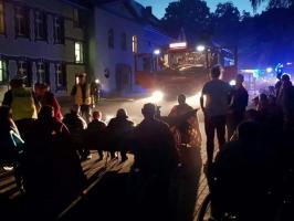 Pożar w Domu Pomocy Społecznej w Białogardzie - ZDJĘCIA - FILM