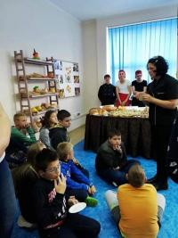 Tydzień Chleba Żytniego w Zespole Szkół im. Jana Pawła II