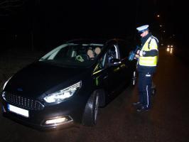 Wspólne działania Policji oraz Straży Granicznej w powiecie białogardzkim.