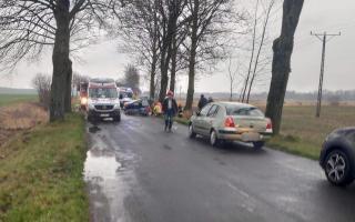 Tragiczny wypadek pod Białogardem. Nie żyje kobieta i dziecko!