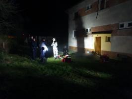 Tragiczny finał pożaru w Pobłociu Wielkim - śmierć poniosły dwie osoby!